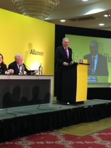 Alliance Party Conference 2016